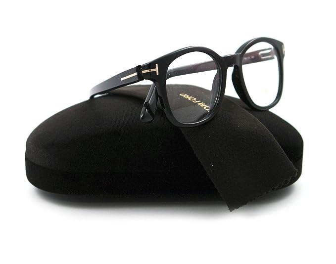 31f3faa358c Tom Ford Eyeglasses TF 5208 BLACK 001 TF5208  Amazon.co.uk  Clothing
