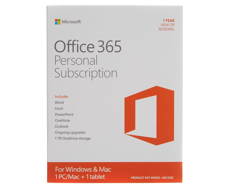 Microsoft Office 365 Personal 32/64 bit 1 Year: Amazon.co.uk: Office ...