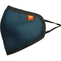 Wildcraft Hypa Shield 6-Layer W95 Reusable Outdoor Protection Mask,Anti-pollution,Anti-dust and Anti-bacteria (Size L…