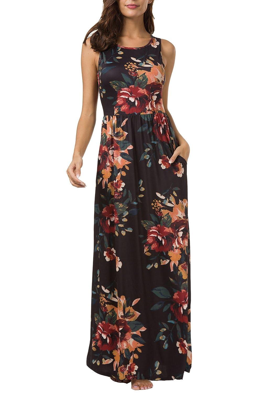 50176a614204 Zattcas Maxi Dresses for Women