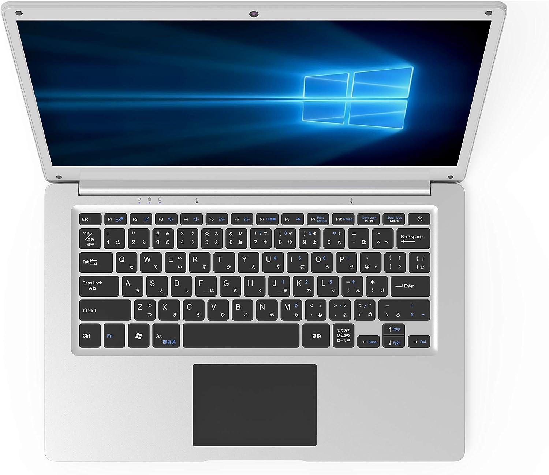 GLM 超軽量PC ノートパソコン /Windows 10/INTEL x5-Z8350/USB3.0/HDMI/WEBカメラ/14.1インチ/SSD64GB/メモリ4GB