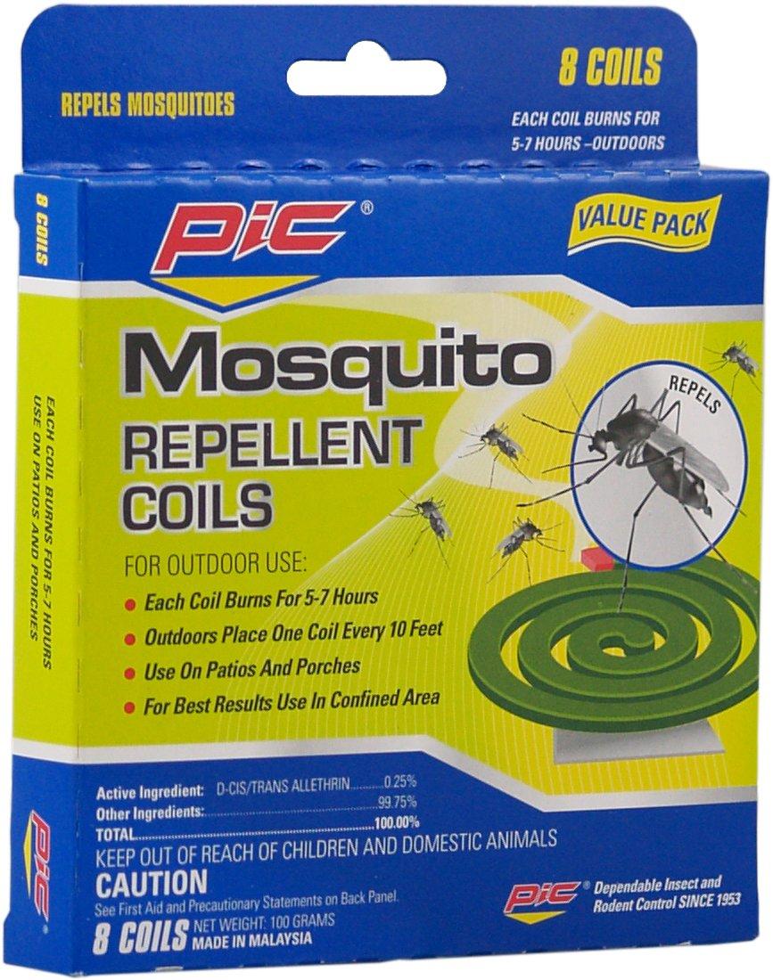 Pic C-8-24 8-Pack Mosquito Repellent Coils