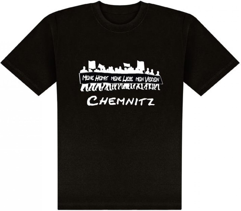 Chemnitz World of Football T-Shirt Meine Heimat
