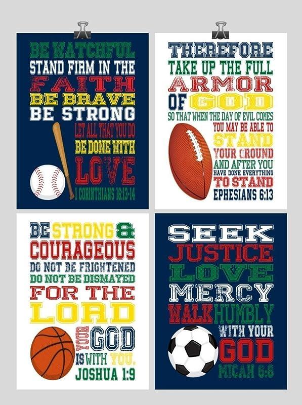 Sports Bedroom Decor for Boys or Girls Room Sports Inspirational wall Art 8x10 Unframed Photography Print Football Art for Walls Sports Nursery D/écor