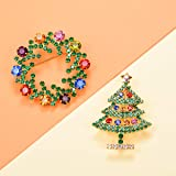 FOCALOOK Merry Christmas Jewelry Celebration Pine