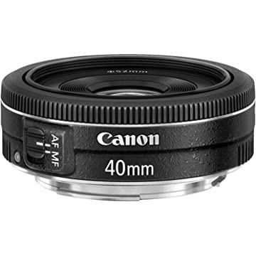 powerful Canon EF 40mm f/8 STM