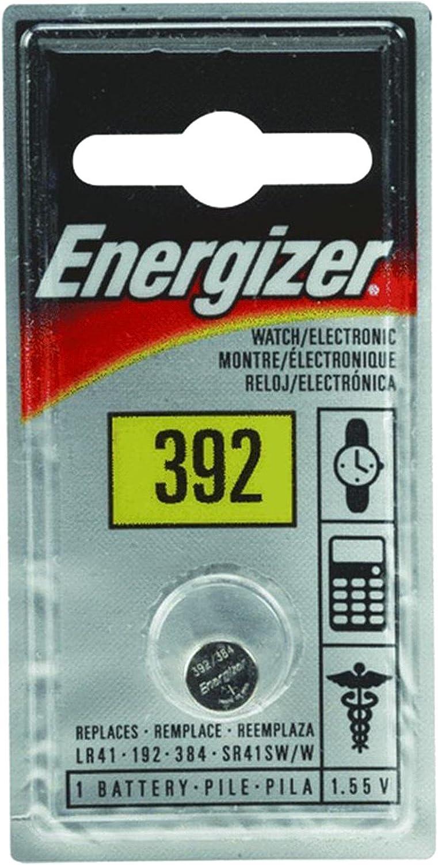 SR41 ENERGIZER 392BPZ BATTERY 1.55V SILVER OXIDE 5 pieces 1134SO