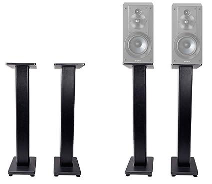 Pair 36quot Bookshelf Speaker Stands For Sony SSCS5 Speakers
