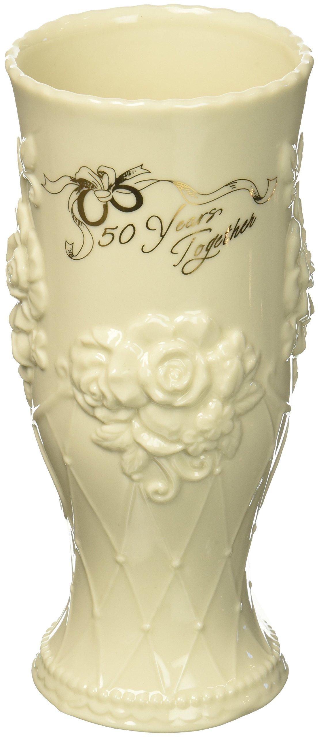 Cosmos 20914 50th Anniversary Ceramic Vase, 7'' High