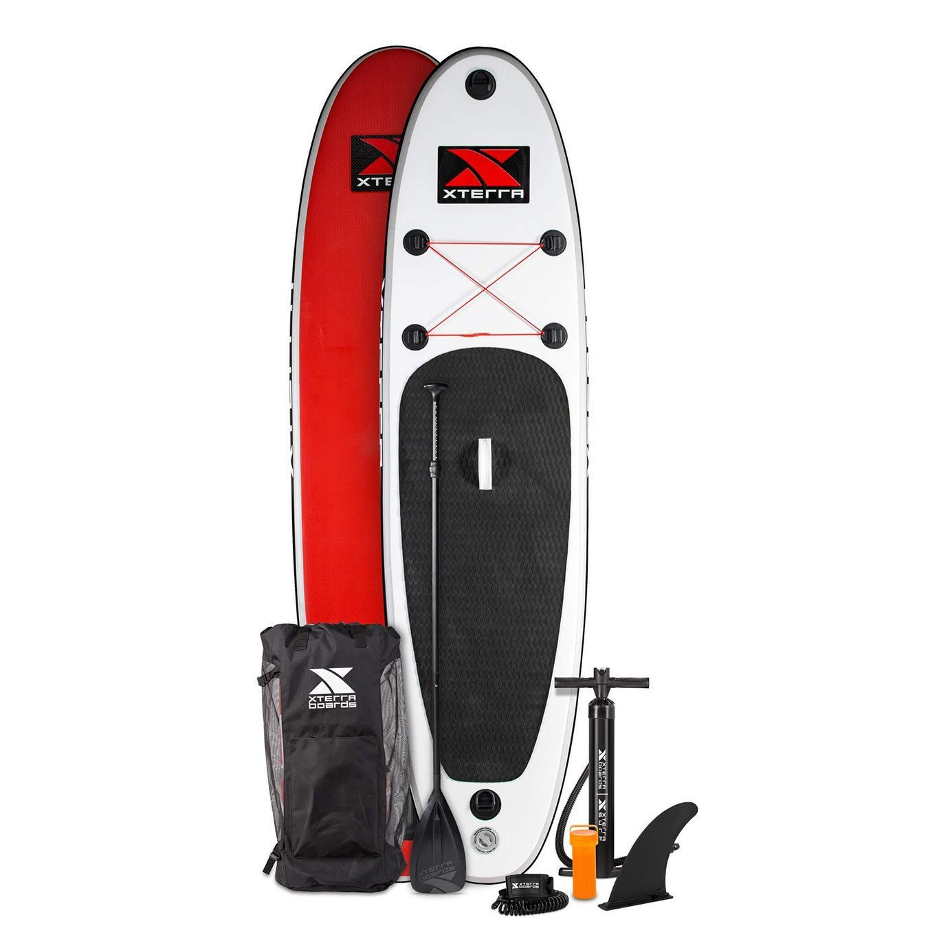 Xterra Paddle Boards >> Amazon Com Xterra White Inflatable 10 Stand Up Paddle Board