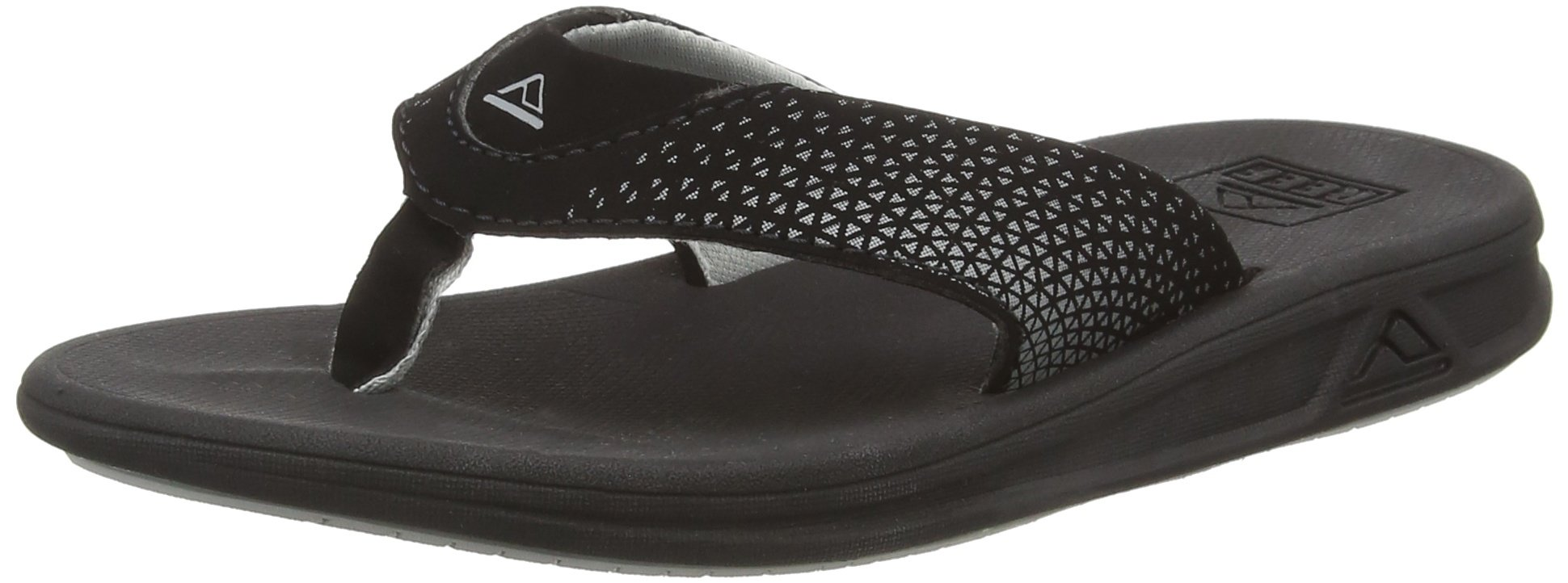 Reef Boys' Grom Rover-K Sandal, Black, 05R (5/6 M US Toddler M US Toddler)