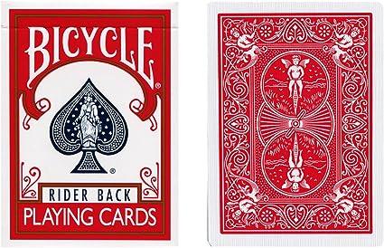 Magic Trick CHEEK TO CHEEK DECK Bicycle Poker