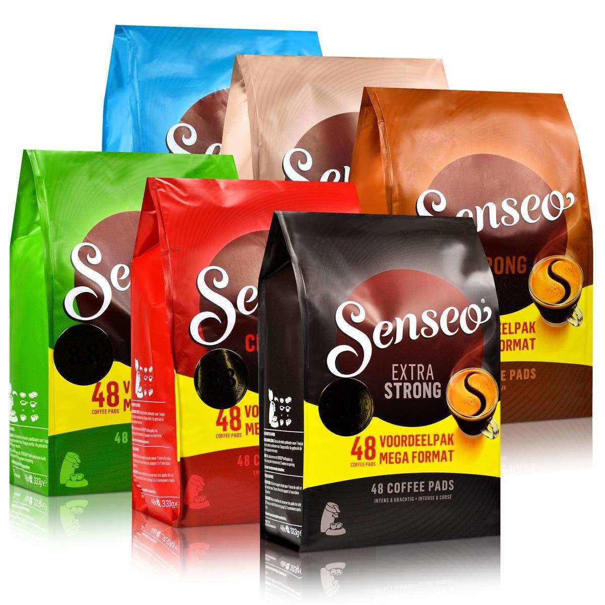 6X Senseo cialde di caffè Set alle varietà 48er Pads–per tutti a Padmaschinen