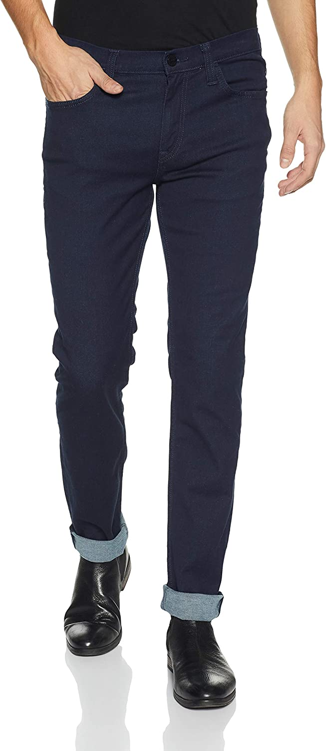 Lee Men's (Bruce) Skinny Fit Mid Rise Jeans