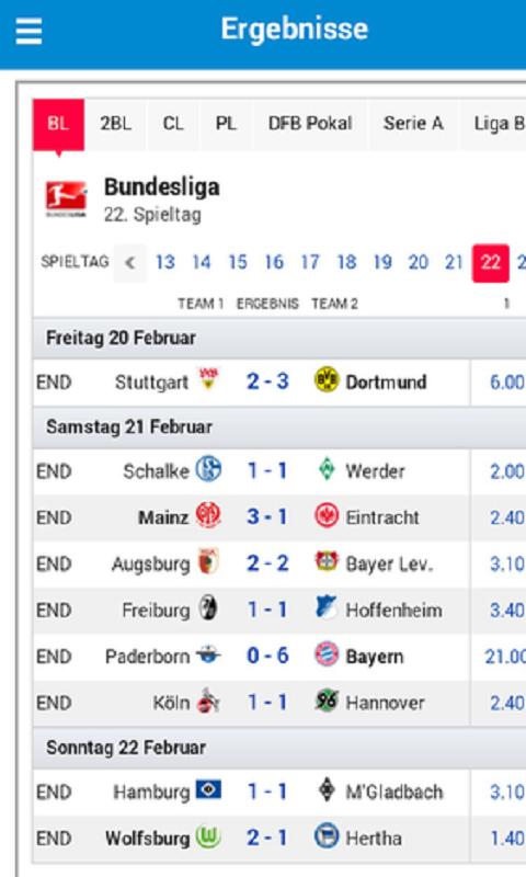 Fussball Live Ticker Ergebnisse