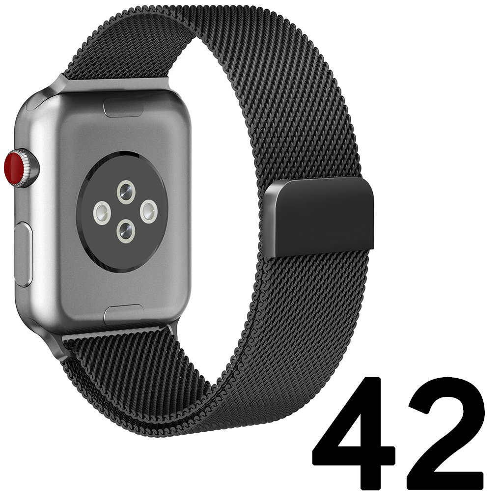 Tirnga For Apple Watch Band 42mm, Milanese Loop for iWatch Bands 42mm Series 3 2 1