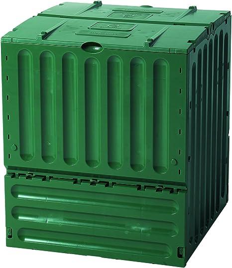 Komposter Garten Thermo-Komposter Kunststoff Kompost 380 L Farbe grün