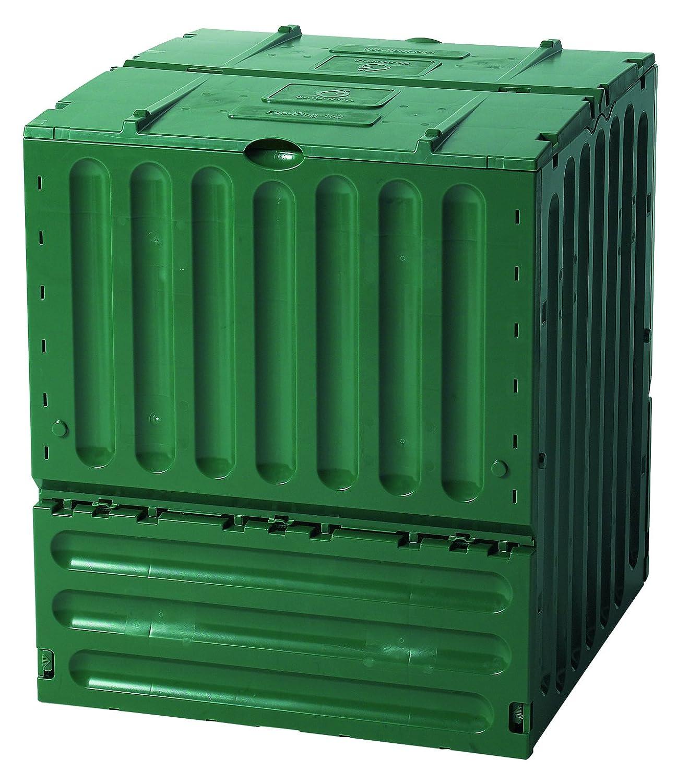 Exaco 627003 Small Eco-King Polypropylene Composter, 110-Gallon, Green Exaco Trading Co. - Warehouse