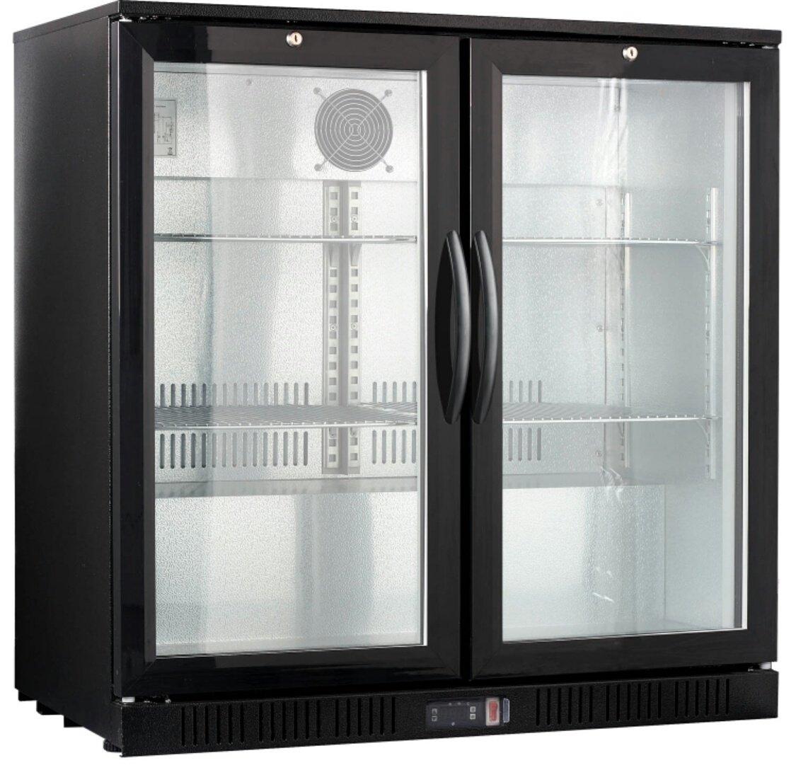 """36"""" Wide 2-door Back Bar Beverage Cooler"""