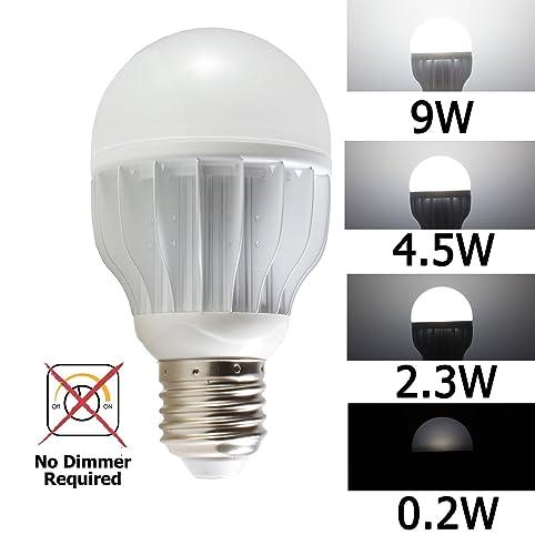 iSmartLED 4 Switchable LED Lighting Levels of 9W/4.5W/2.3W/0.2W ...