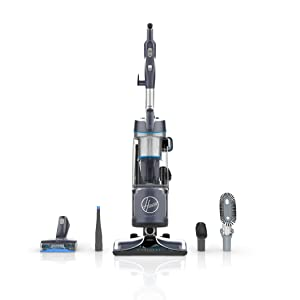 Hoover React Powered Reach Plus Bagless Upright Vacuum, UH73510PC
