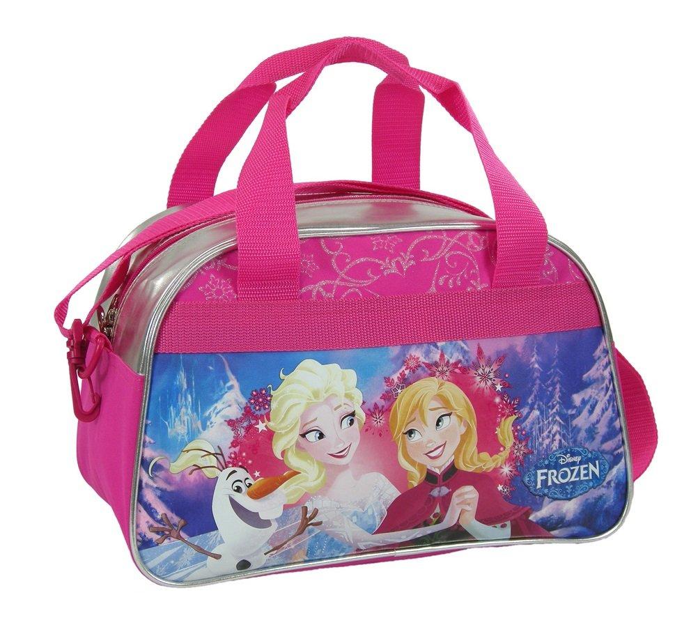 Maxi&mini - La Reine Des Neiges Frozen Sac De Voyage Sport Loisirs Sac Bandoulière Sac Bagage A Main - Nouveaute Disney 22lHhr