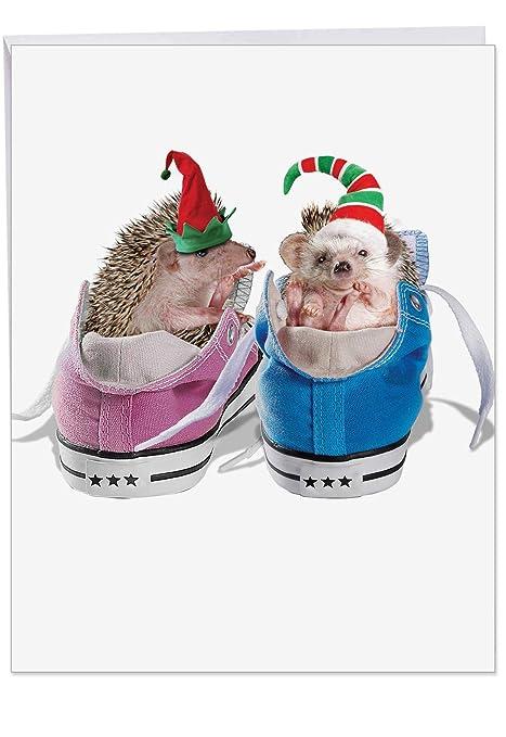 Amazon.com: Tarjetas de la tarjeta de Navidad de cobertura ...