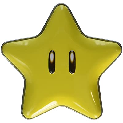 New Super Mario Brothers Super Star Tin(one) with star candies inside: Grocery & Gourmet Food