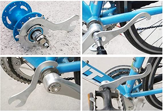 Bicycle Lock Ring Remover Bottom Bracket Pedal Spanner Wrench Repair Tools