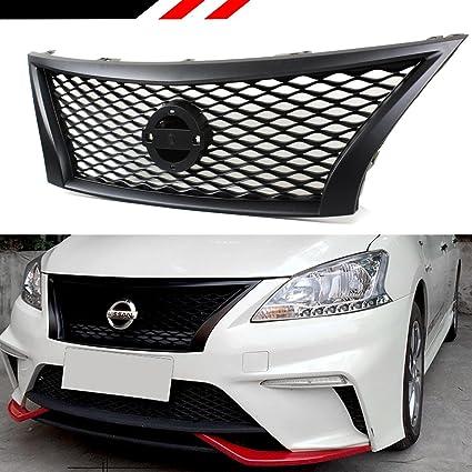 Rejilla de parrilla para Nissan SENTRA B17, estilo JDM ...