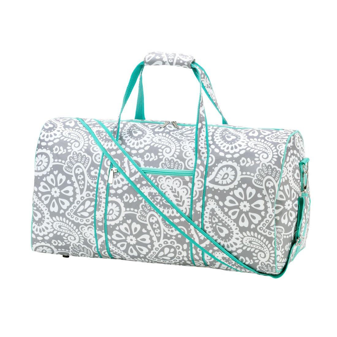 WB Parker Paisley Duffel Bag