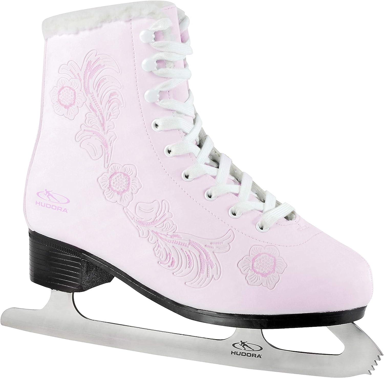 39 Gr HUDORA Schlittschuhe Eislaufschuhe ROSE rosa