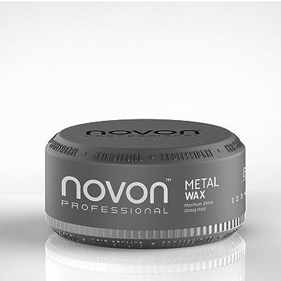 6x novon Professional metal Wax 150Ml–Aqua Hair Wax