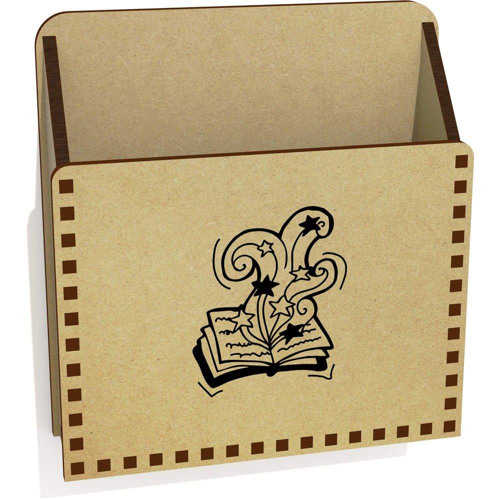 LH00029101 Caja Libro Magico De Madera Carta Poseedor