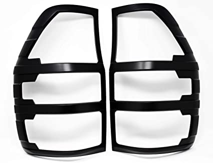 Aletines en ABS negro Ranger 2016 en adelante doble y extra cabina