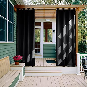 Superieur Outdoor Curtain Panel For Patio   NICETOWN All Season Thermal Insulated  Water Proof Grommet Blackout Indoor
