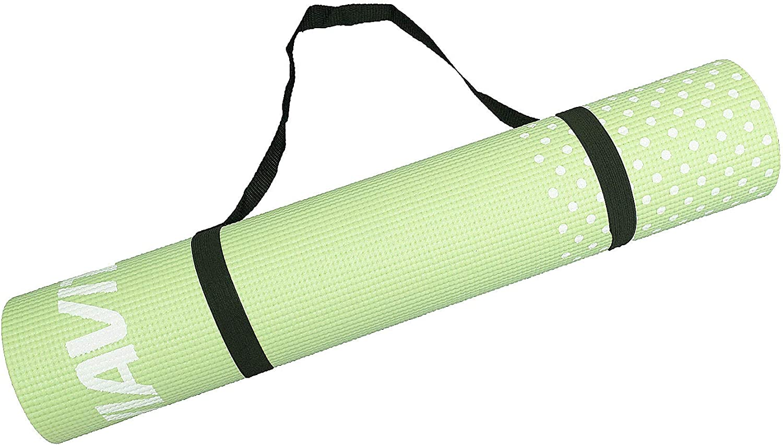 Viavito Leviato - Esterilla de yoga unisex, 6 mm, con correa de transporte, color lima, talla única: Amazon.es: Deportes y aire libre