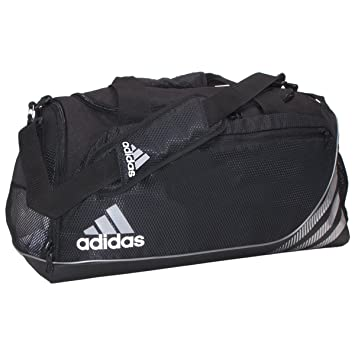 Amazon.com: adidas Team Speed Medium Duffel Bag, Black: Sports ...