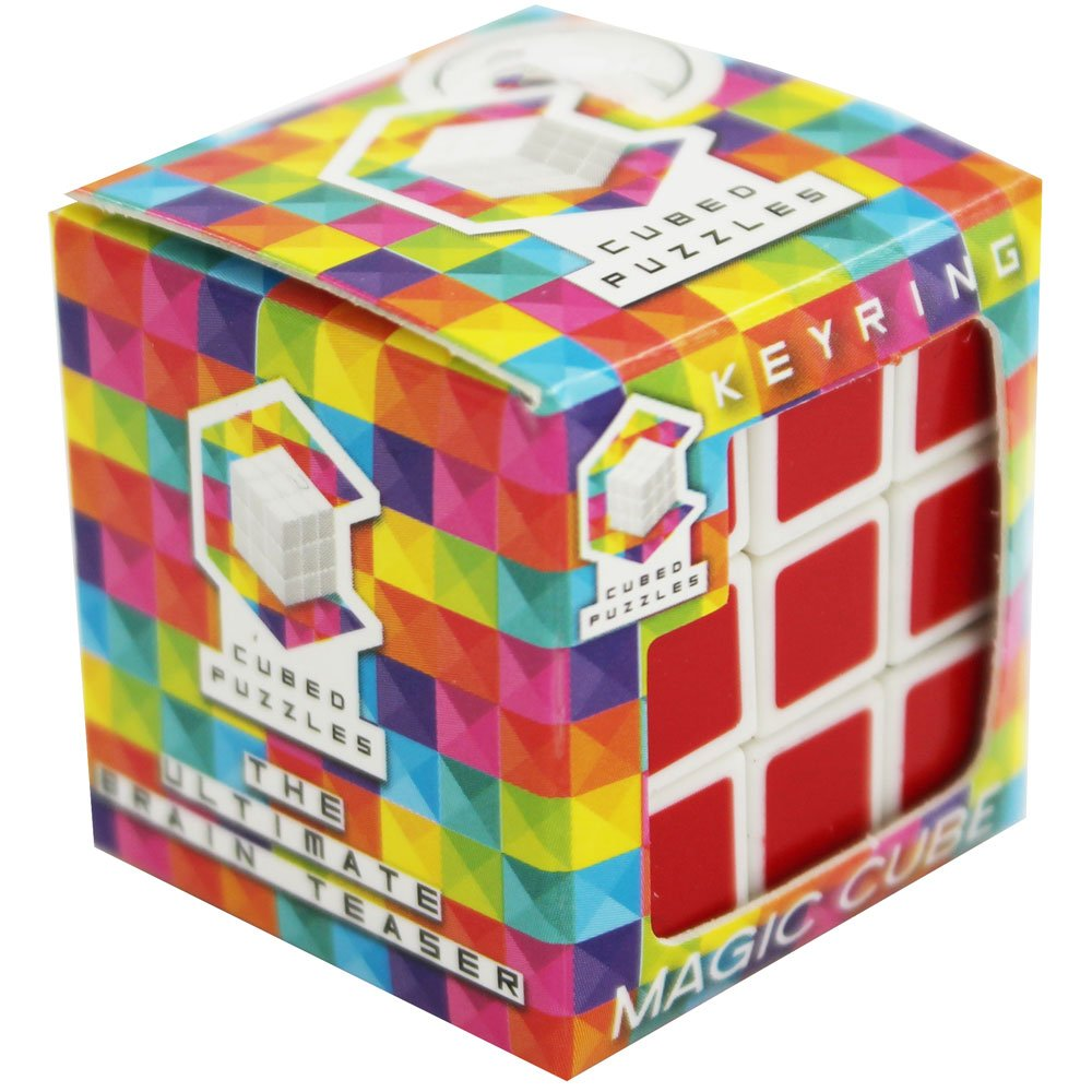 Mini Magic Cube Llavero: Amazon.es: Hogar