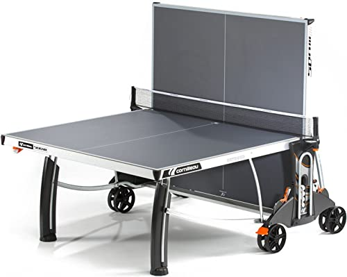 Cornilleau 500M Crossover Indoor Outdoor Gray Table Tennis Table