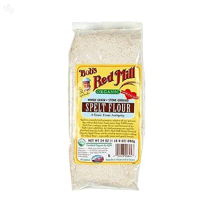 Bobs Red Mill Organic Spelt Flour, 24oz, 2 pk: Amazon.com ...