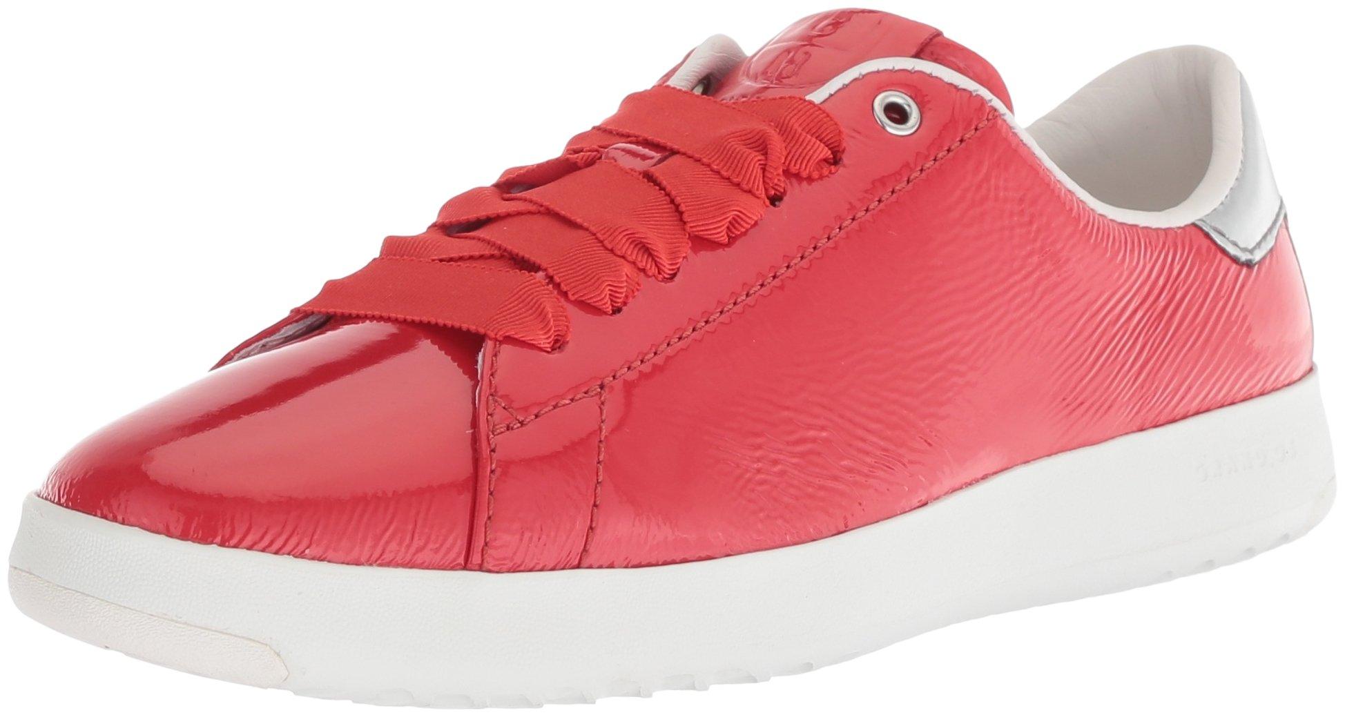 Cole Haan Women's Grandpro Tennis Sneaker, Aura Orange, 8 B US