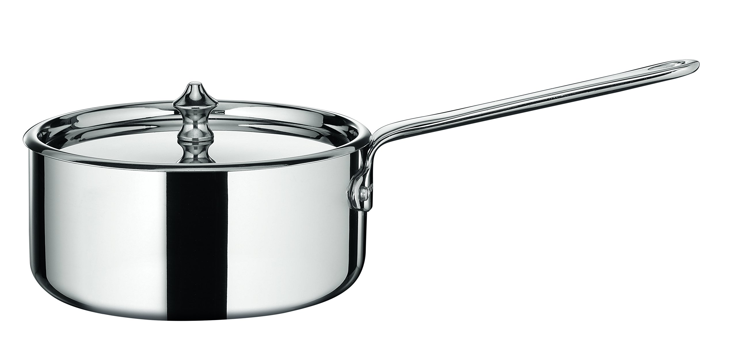 Scanpan 11231400 Maitre 'D Steel Covered Saucepan, 0.95 quart, Metallic
