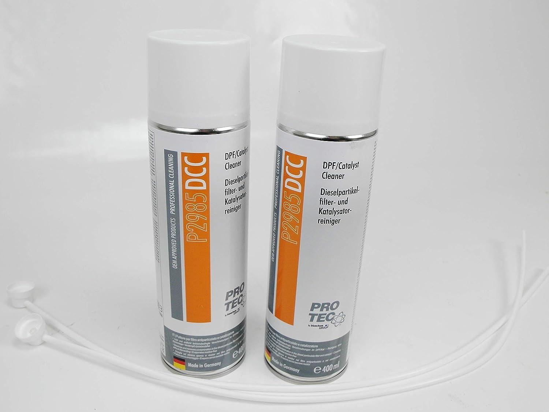 2 x 400 ml Diesel filtro de partículas limpiador y catalizador ...