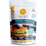 Good Dee's Blueberry Pancake Mix - Low Carb Keto Baking Mix (2g Net Carbs, 24 Pancakes) | Allulose Sweetened, Sugar Alcohol-F