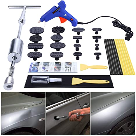 Auto Dent Puller Cup Car Body Dent Damage Repair Hand Tool Pulling bridge hammer