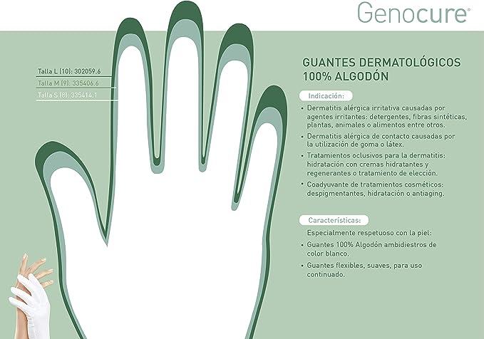 GENOVE - GUANTE ALGODON GENOVE 6-7 PQ: Amazon.es: Belleza