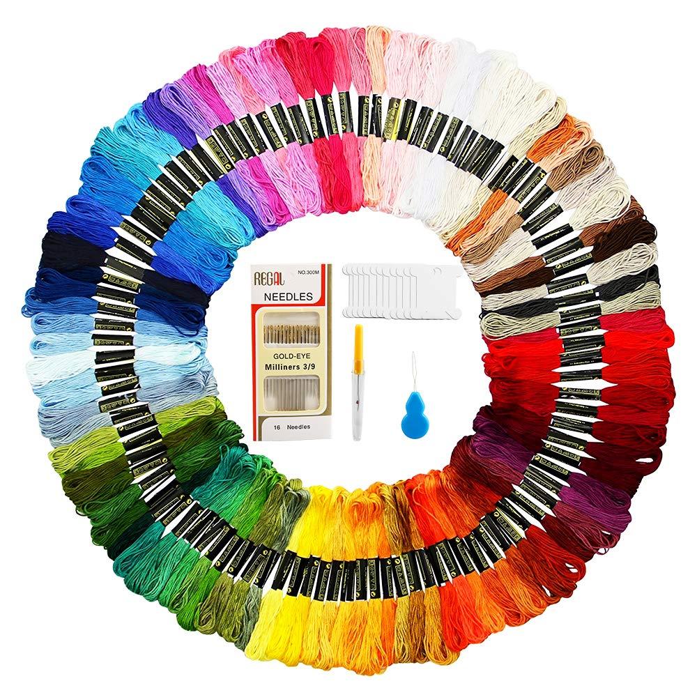 Alle Farben Riolis Garn Sickgarn SET