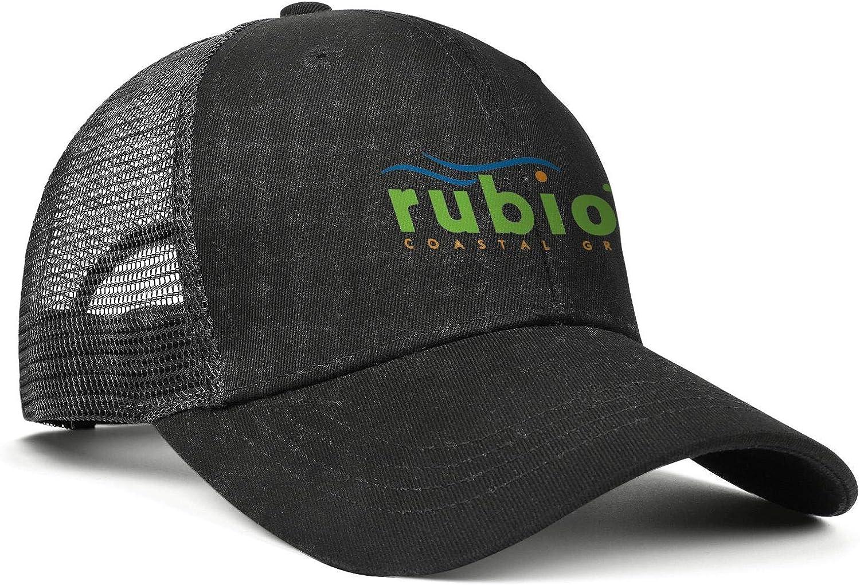 WintyHC Rubios Coastal Grill Cowboy Hat Bucket Hat Adjustable Fits Baseball Cap