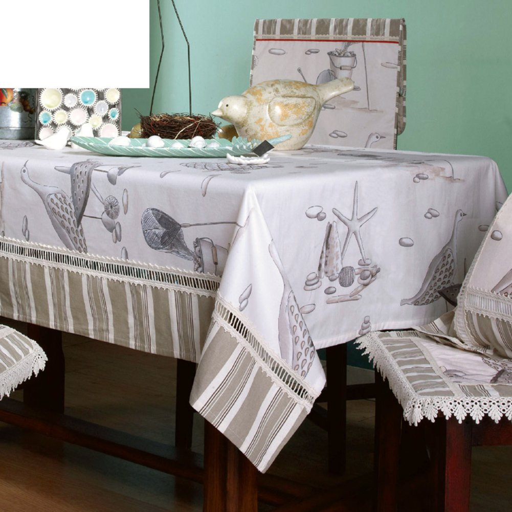 Raphael Home Table Cloth,Table Cloth Mat,Multi-use Towel Tea Table Towel-A 150x240cm(59x94inch)